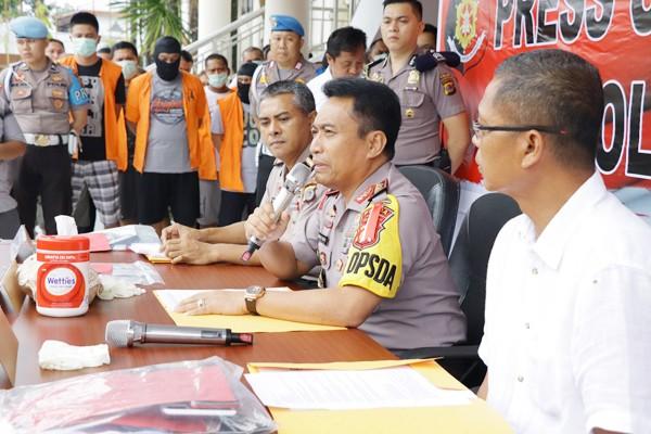 Kapolda Sulut Irjen Bambang Waskito, di Mapolda Sulut, Manado, Kamis, 8 November 2018. Medcom.id/Mulyadi Pontororing