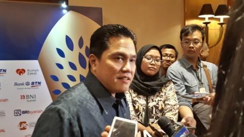 Ketua TKN Joko Widodo-Ma'ruf Amin, Erick Thohir -