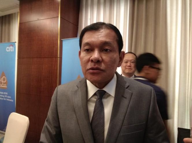 CEO Citibank Indonesia Batara Sianturi (Foto: Medcom.id/Desi Angriani)