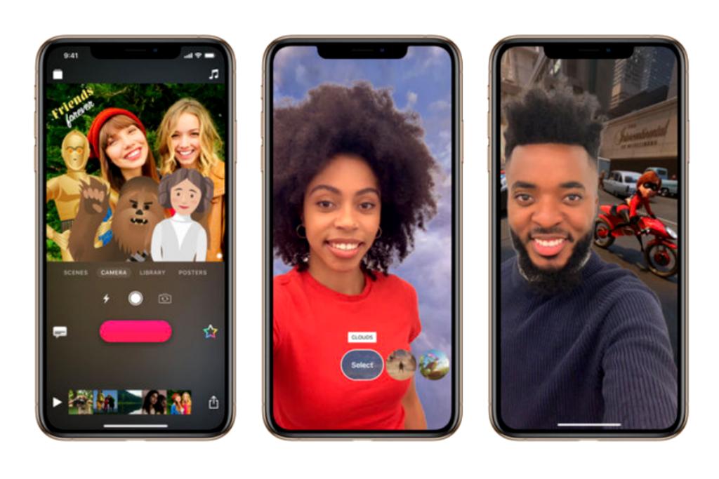 Apple menghadirkan update terkait Augmented Reality pada aplikasi Clips.