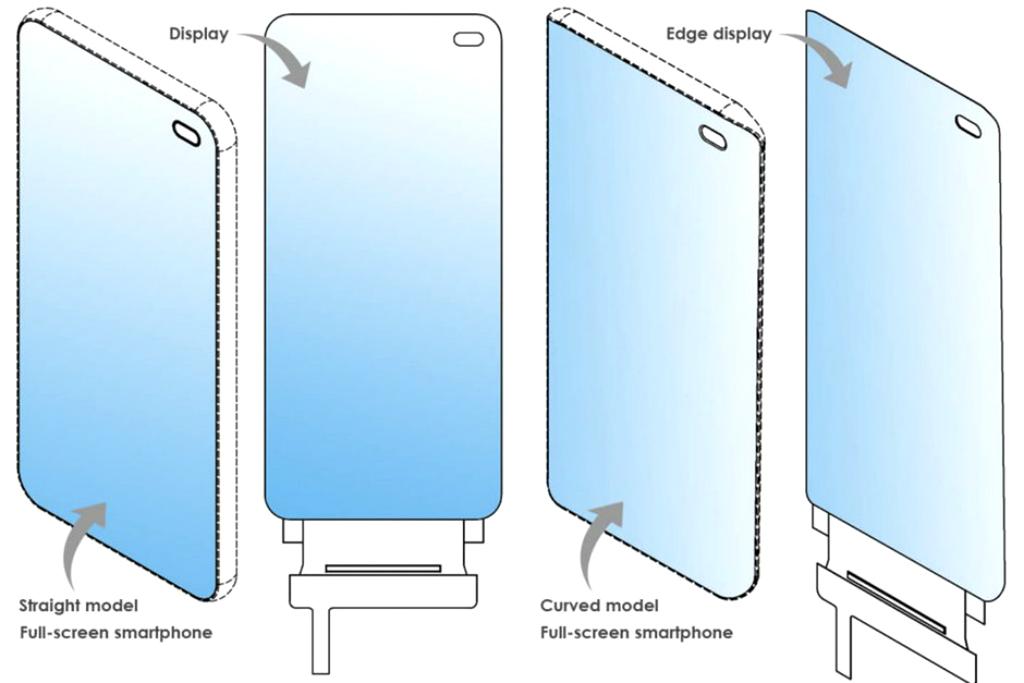 LG mendaftarkan paten layar tanpa usungan desain poni, dan lubang di bagian layar untuk kamera depan.