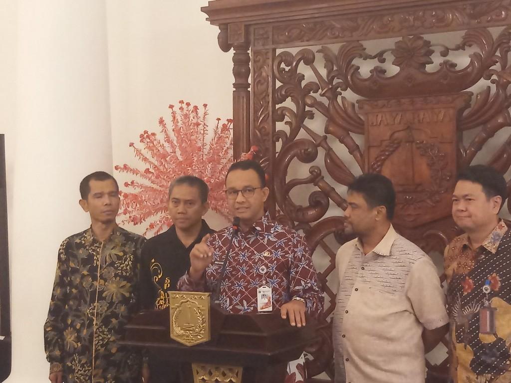 Gubernur DKI Jakarta Anies Baswedan - Medcom.id/M Sholahadhin Azhar.