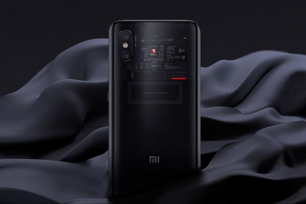 Xiaomi Mi 8 Pro.