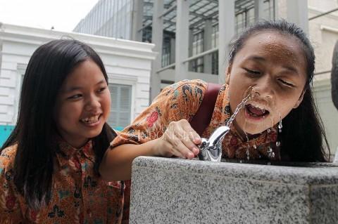 Air Siap Minum Tersedia di Museum Nasional