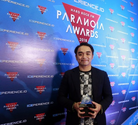 Dipha Barus Bangga Diganjar Penghargaan