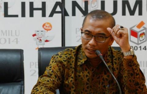 Komisioner KPU Hasyim Asyari--MI/Irfan