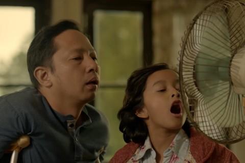 Ringgo Agus Rahman dan Widuri Putri dalam Keluarga Cemara