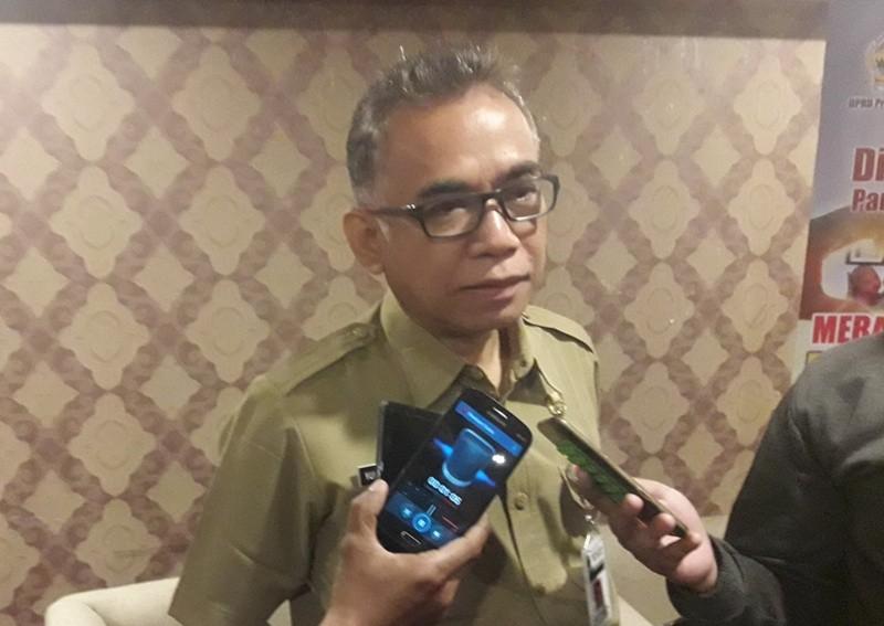 Kepala Dinas Kesehatan Provinsi Jateng, Yulianto Prabowo di Semarang, Jawa Tengah, Jumat, 9 November 2018. Medcom.id/ Budi Arista Romadhoni.