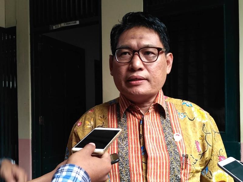 Ketua LPSK RI Abdul Haris Semendawai di Yogyakarta, Jumat, 9 November 2018. Medcom.id/Patricia Vicka