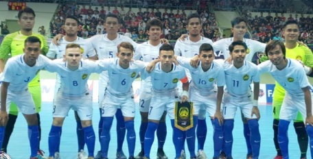 Skuat Futsal Malaysia (Foto: @FAM_Malaysia)