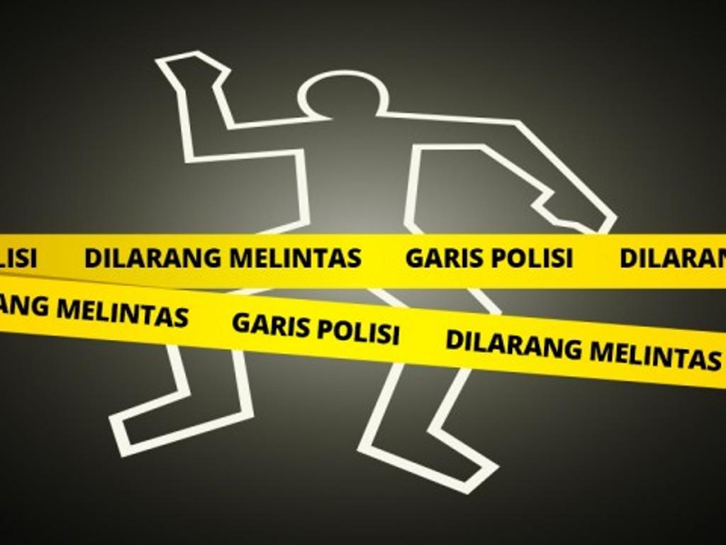 Ilustrasi garis polisi. Medcom.id