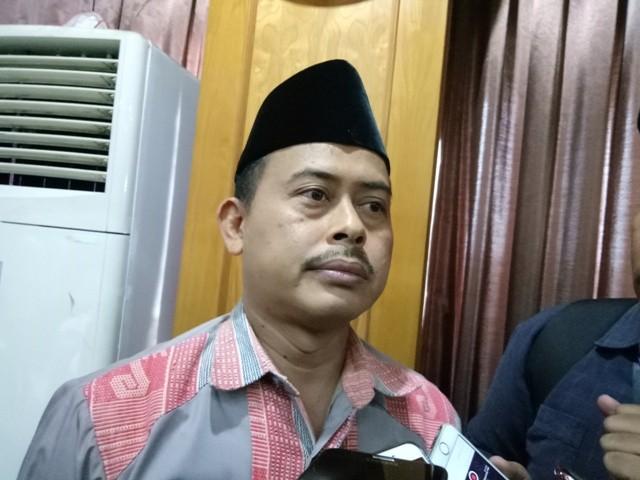 Ketua Umum Persaudaraan Alumni (PA) 212 Slamet Ma'arif. Foto: Siti Yona Hukmana/Medcom.id