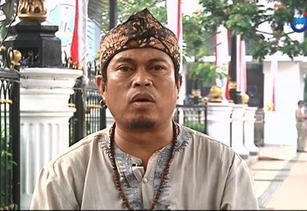 Ketua Panitia Drama Kolosal 'Surabaya Membara' Taufik Hidayat. (Foto: Metro TV)