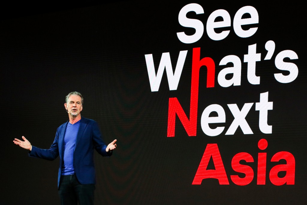 Co-founder & CEO Netflix Reed Hastings