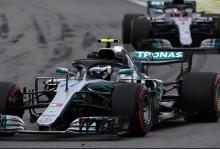 Valtteri Bottas Rajai FP2 GP Brasil