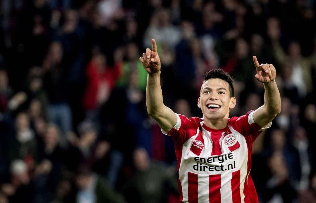 Penyerang PSV Eindhoven, Hirving 'Chucky' Lozano (AFP/Koen van Weel)