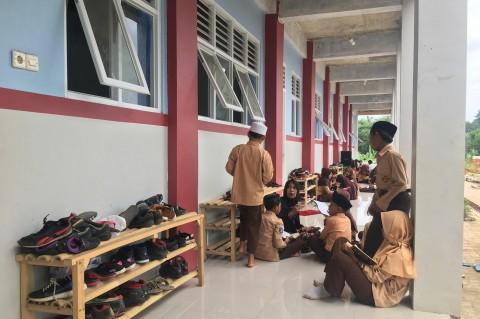 Ilustrasi gedung sekolah. Metrotvnews.com / Farhan Dwitama