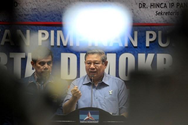Ketua Umum Partai Demokrat Susilo Bambang Yudhoyono. Foto: MI/Antara