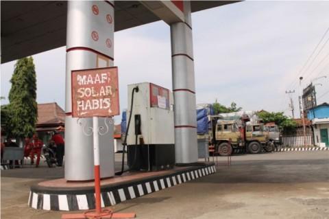 Ilustrasi kelangkaan BBM. Foto: Metrotvnews.com/Kuntoro Tayubi