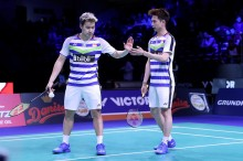 Mulus ke Final, Marcus/Kevin Buka Kans <i>All Indonesian