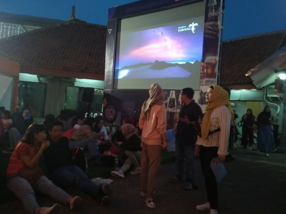 Suasana The 90's Festival, Gambir Expo Kemayoran Jakarta, Sabtu, 10 November 2018. (Foto: Medcom.id/Cecylia Rura)