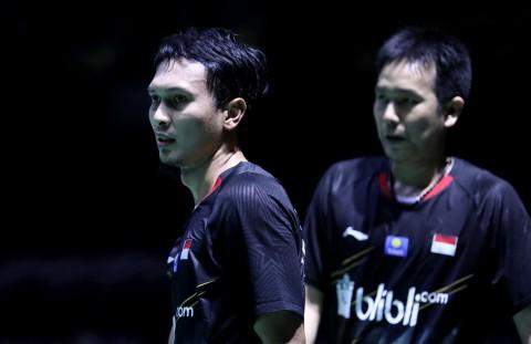 Disingkirkan Wakil Tuan Rumah, Ahsan/Hendra Gagal Bikin <i>All-Indonesian Final</i>