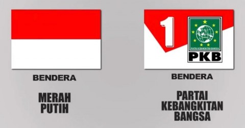 Polemik Merah Putih di Bendera PKB