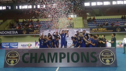 Thailand Juara AFF Futsal 2018