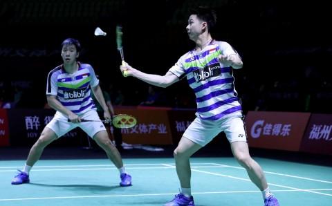 Marcus/Kevin Butuhkan Rubber Game untuk Pastikan Gelar Fuzhou China Open 2018