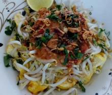Resep Nasi Tahu Campur Bumbu Kacang