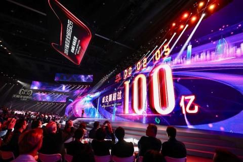 Dua Menit, Alibaba Raup Rp21,17 Triliun di <i>Singles Day</i>