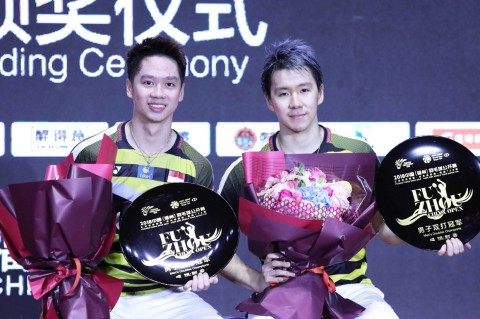 Kevin/Marcus Juara Fuzhou China Open 2018