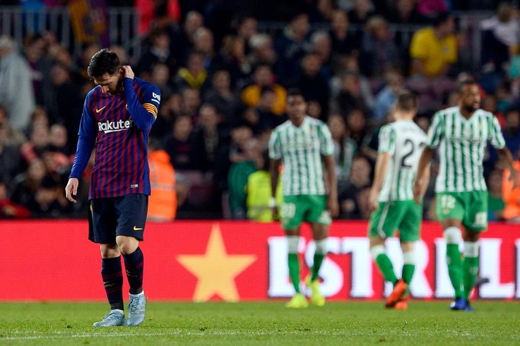 Barcelona Dipermalukan Real Betis di Camp Nou