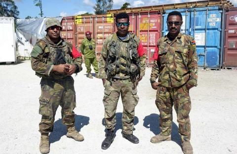 Ribuan Personel Militer Asing Amankan APEC