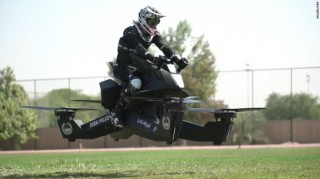 Polisi Dubai akan Kendarai Motor Terbang pada 2020
