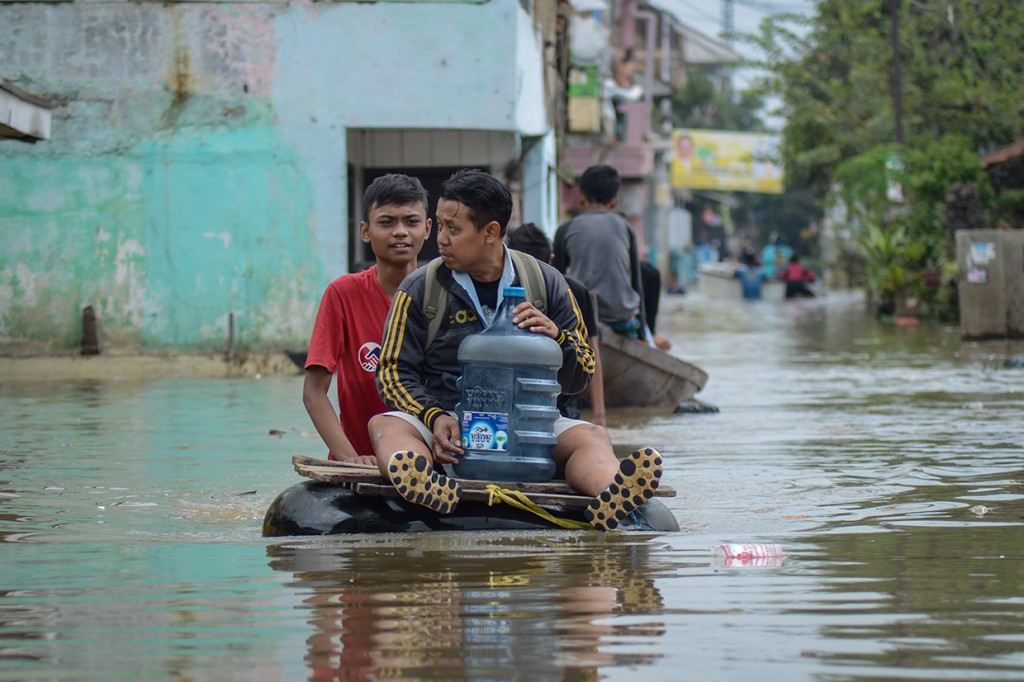Banjir di Dayeuhkolot Bandung Meluas