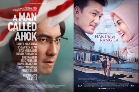 Perolehan Penonton Sementara, Film Ahok Lebih Laris dari Film Hanum Rais
