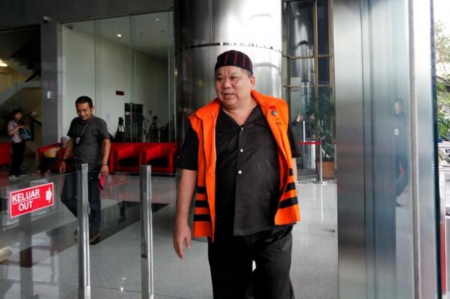 Direktur PT Sawit Golden Prima (PT SGP) Hery Susanto Gun alias Abun - MI/Rommy Pujianto