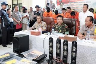 Perampok Spesialis Minimarket dan Apotek di Manado Ditangkap