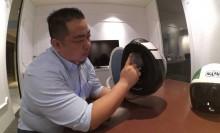 Usai Pakai Helm, Simpan dengan Cara Dibalik