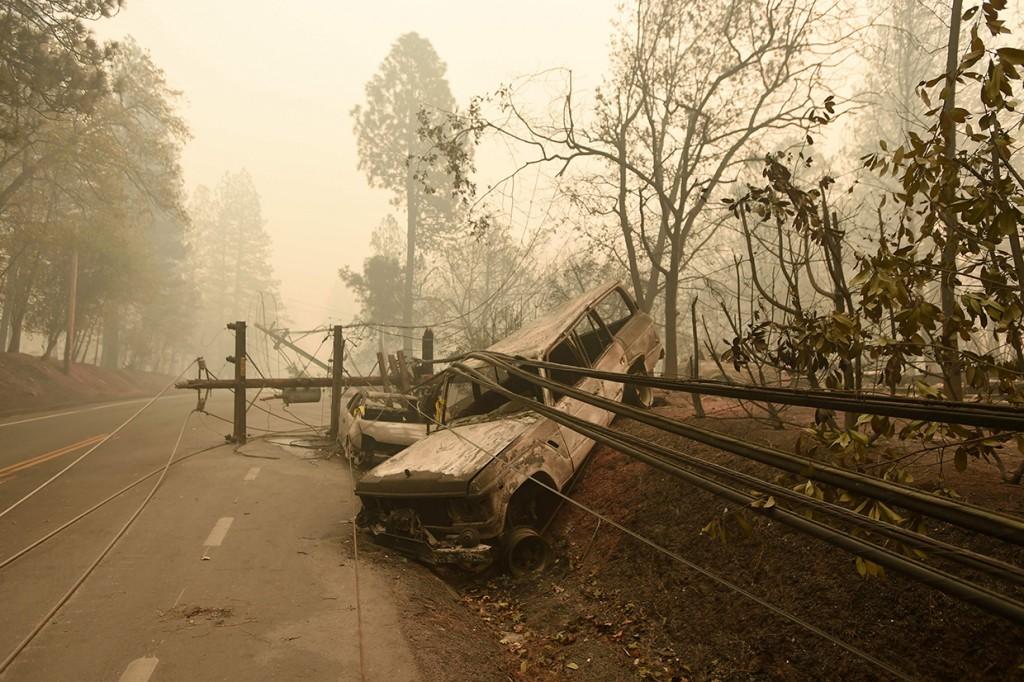 Korban Tewas Kebakaran Hutan di California Bertambah Jadi 31 Orang