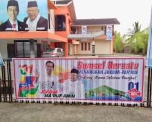 Relawan Optimistis Jokowi-Ma'ruf Menang di Sumsel