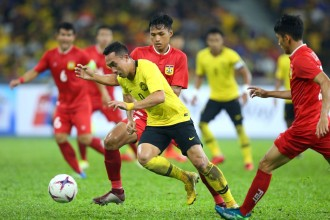 Striker Malaysia Bertekad Sabet Sepatu Emas