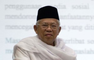 Ma'ruf Ungkap Jokowi Pernah <i>Nyantri</i>