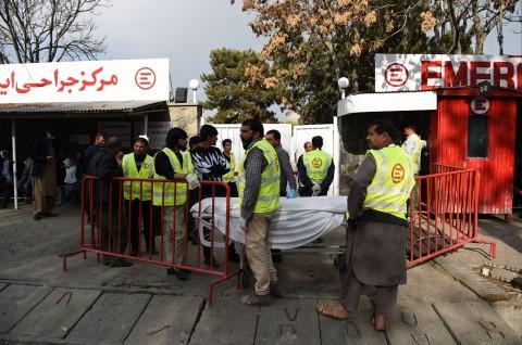 ISIS Klaim Ledakan Besar di Kabul