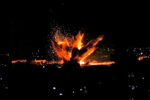 Israel Targetkan 150 Fasilitas Militer di Gaza