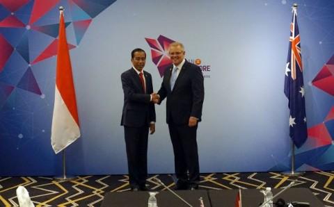 Jokowi, Australian PM Hold Bilateral Meeting during ASEAN Summit
