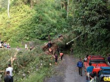 BPBD: Jalur Selatan Malang-Lumajang Rawan Longsor