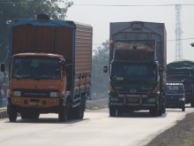 Dishub Tangerang Sosialisasikan Pembatasan Mobil Barang