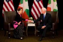 Wapres AS Kritik Myanmar soal Rohingya